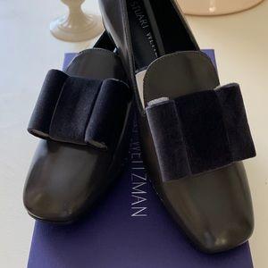 NEW Stuart Weismann Charcoal Tuxedo Shoe